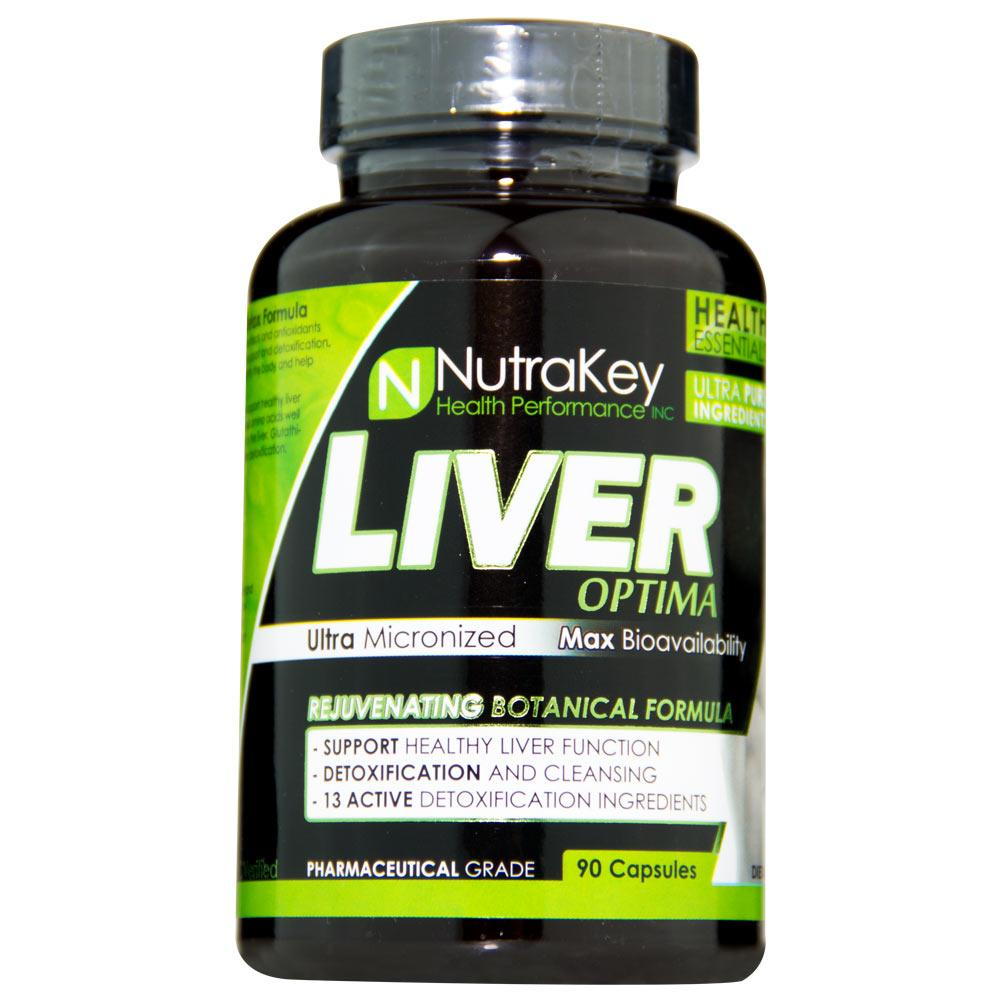 NutraKey Liver Optima 90 Capsules Specialty Health Products Nutrakey  (4429474332737)