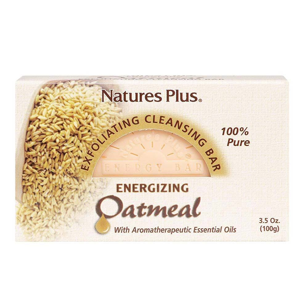 Nature's Plus Oatmeal Exfoliating Cleansing Bar 3.5oz Personal Care& - Hygeine Nature's Plus  (1797595430955)