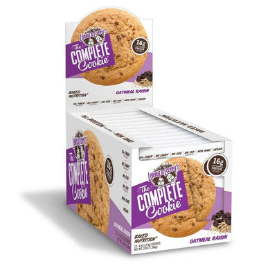 Lenny & Larry's Complete Cookie 12/Box Foods & Snacks Lenny & Larry's Oatmeal Raisin  (1059222814763)