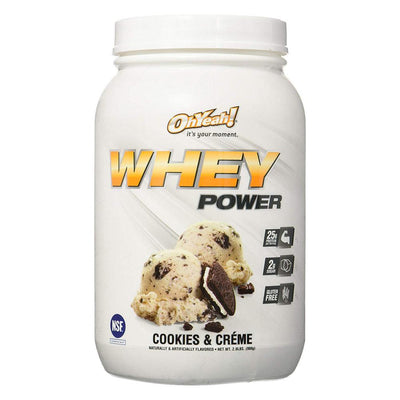 ISS Oh Yeah Whey Power 2lb Protein Powders ISS Research Cookies and Creme  (4164297883691)