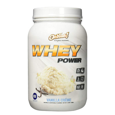 ISS Oh Yeah Whey Power 2lb Protein Powders ISS Research Vanilla Creme  (4164297883691)