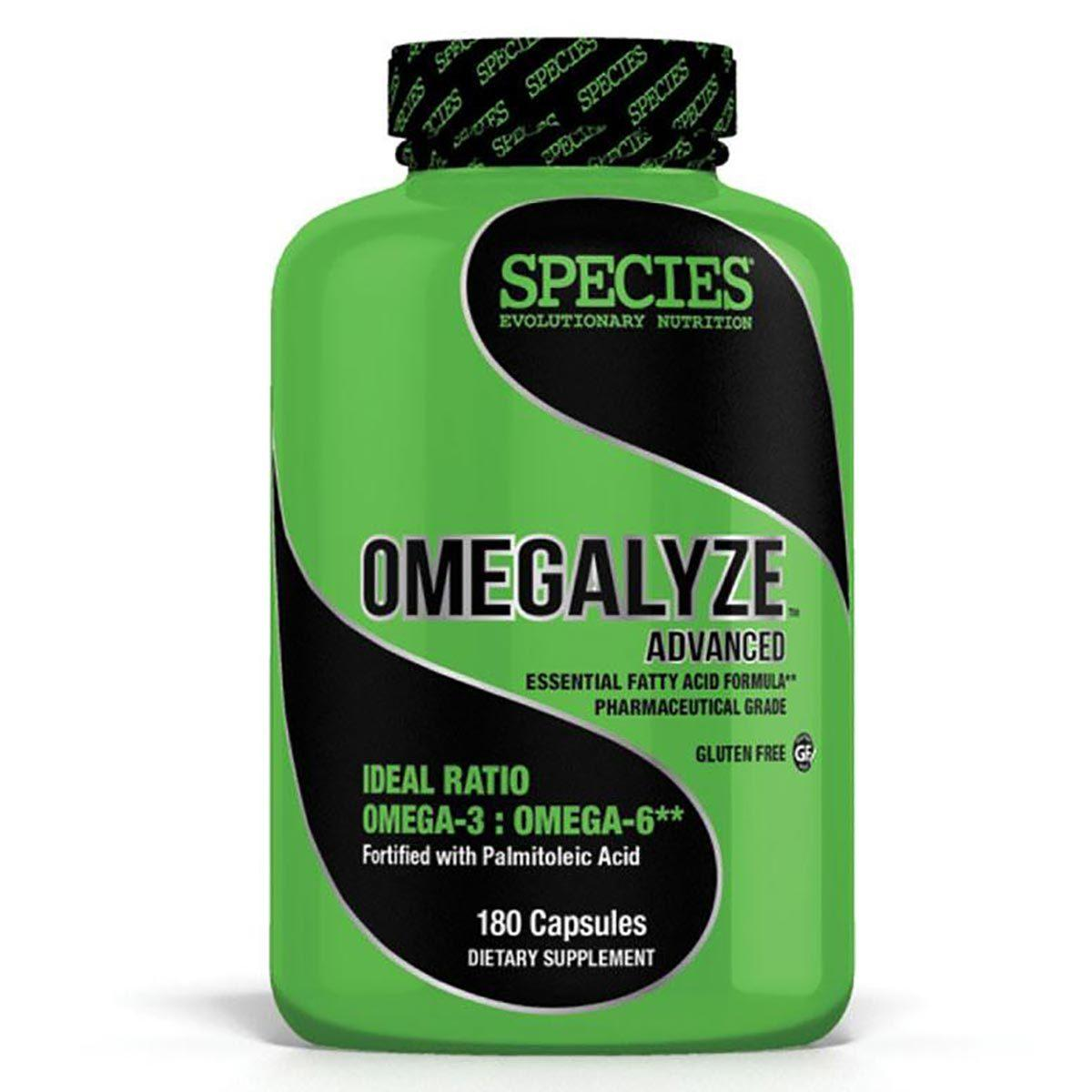 Species Nutrition Omegalyze Advanced 180 Gels Omega Fatty Acids / EFAs Species Nutrition  (1058169389099)