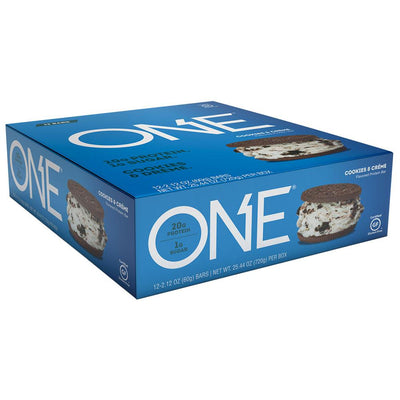 ISS Research Oh Yeah! One Bar 12/Box Protein ISS Research Cookies and Creme  (1059190898731)