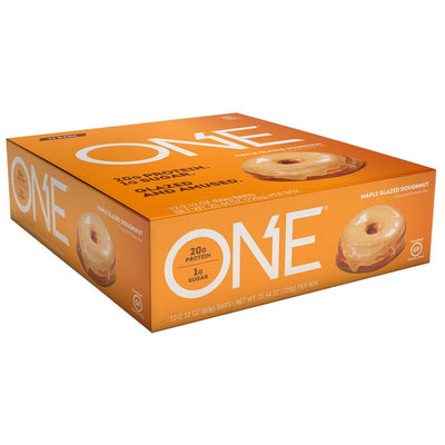 ISS Research Oh Yeah! One Bar 12/Box Protein ISS Research Maple Donut  (1059190898731)