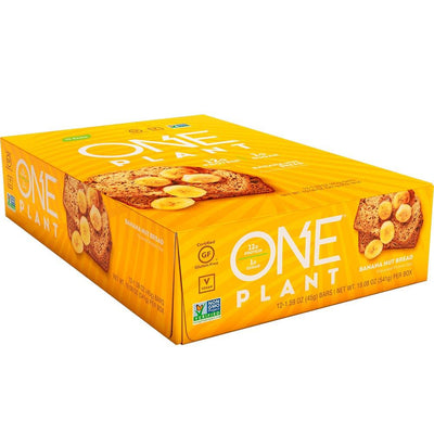 One Bar Plant 12/box Bars One Brands Banana Nut Bread  (4571826290753)