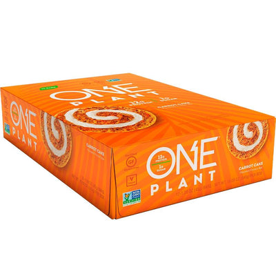 One Bar Plant 12/box Bars One Brands Carrot Cake  (4571826290753)
