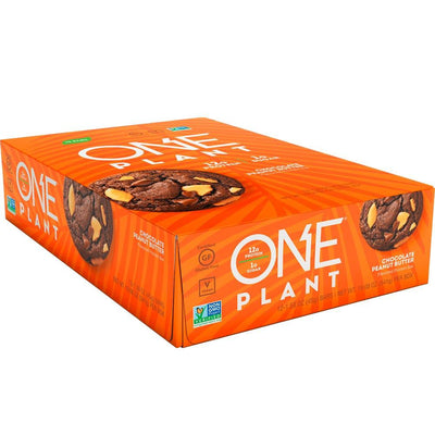 One Bar Plant 12/box Bars One Brands Chocolate Peanut Butter  (4571826290753)