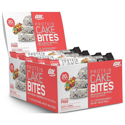 Optimum Nutrition Protein Cake Bites 12/Box Foods & Snacks Optimum Nutrition Fruity Cereal  (1059269804075)