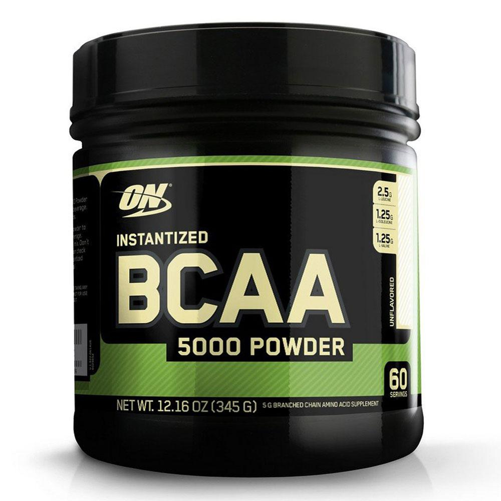 Optimum Nutrition BCAA 5000 Unflavored Powder 60 Servings Amino Acids Optimum Nutrition  (1399412097067)