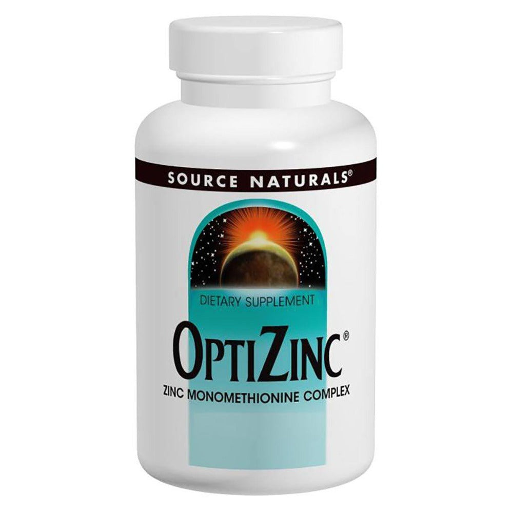 Source Naturals Opti-Zinc 30mg 60 Tablets Source Naturals  (1059065364523)