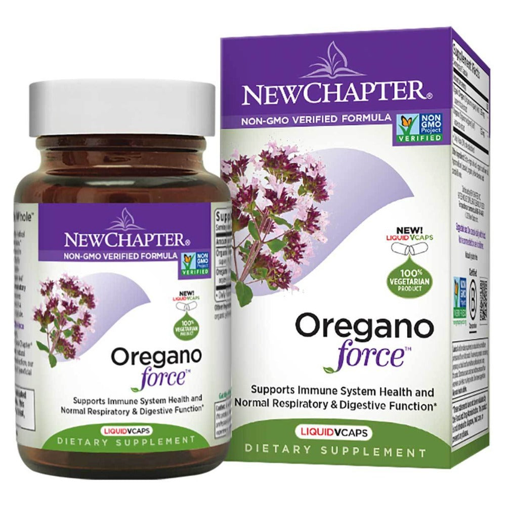 New Chapter Oregano Force 30 Gels Herbs New Chapter  (1058653143083)
