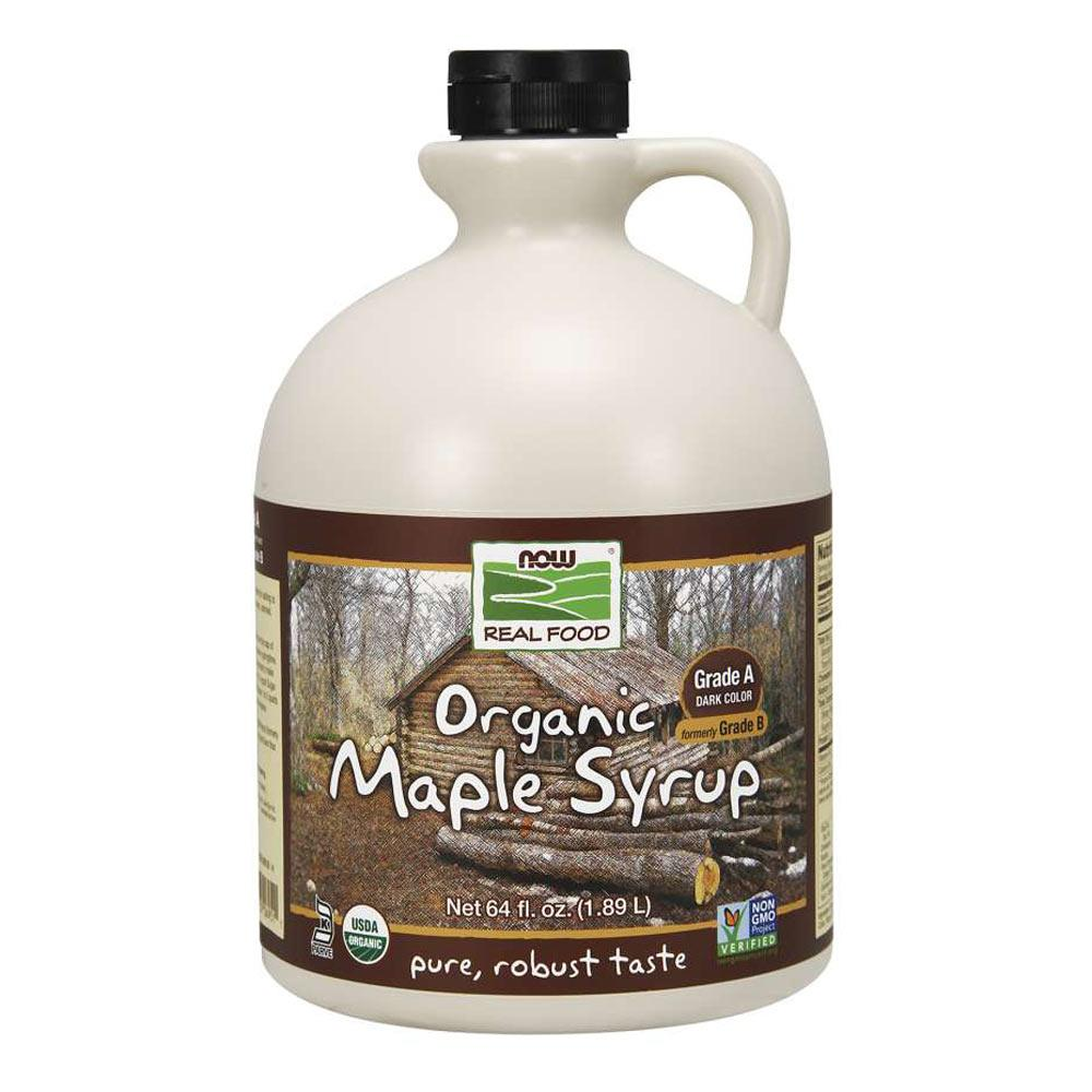 Now Foods Maple Syrup Grade A Org 64 Oz Foods & Snacks Now Foods  (1059121332267)