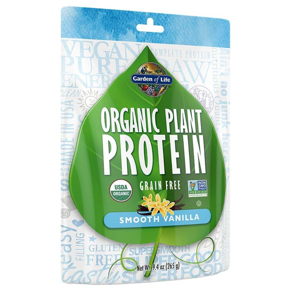 Garden of Life Organic Plant Protein 10 Servings Protein Garden of Life  (1059093872683)