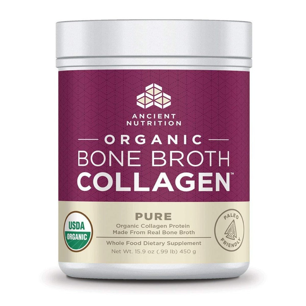 Organic Bone Broth Collagen Protein Powders Ancient Nutrition Pure  (1450464444459)
