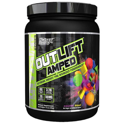 Nutrex Outlift Amped 20 Servings (4464140714049)