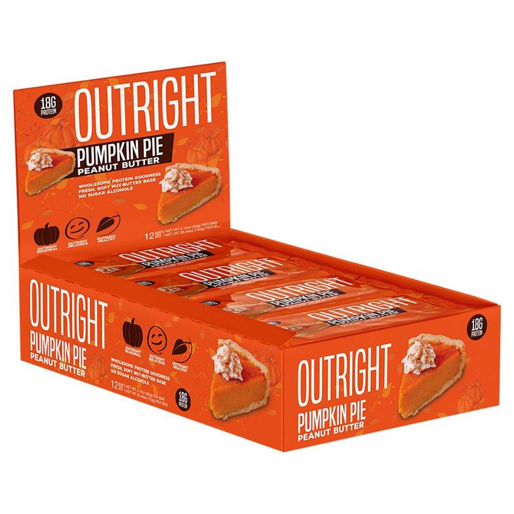 MTS Nutrition Outright Bar 12 Pack Bars MTS Nutrition Pumpkin Pie Peanut Butter  (1825697103915)