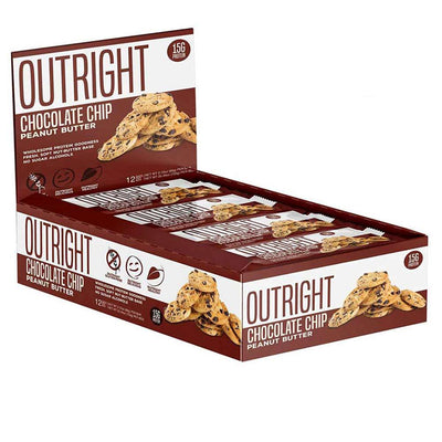 MTS Nutrition Outright Bar 12 Pack Bars MTS Nutrition Chocolate Chip Peanut Butter  (1825697103915)
