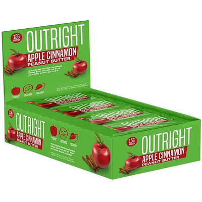 MTS Nutrition Outright Bar 12 Pack Bars MTS Nutrition Apple cinnamon Peanut Butter  (1825697103915)