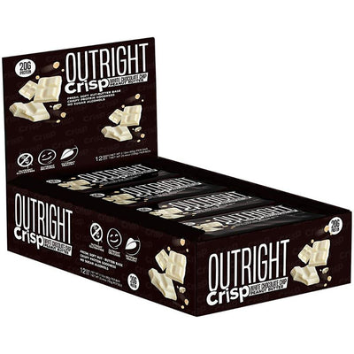 MTS Nutrition Outright Bar 12 Pack Bars MTS Nutrition Crisp White Chocolate Chip Peanut Butter  (1825697103915)