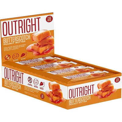 MTS Nutrition Outright Bar 12 Pack Bars MTS Nutrition Butterscotch  (1825697103915)