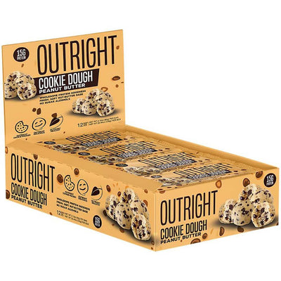 MTS Nutrition Outright Bar 12 Pack Bars MTS Nutrition Cookie Dough Peanut Butter  (1825697103915)