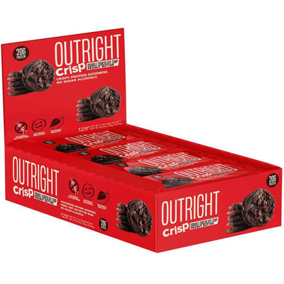 MTS Nutrition Outright Bar 12 Pack Bars MTS Nutrition Crisp Double Chocolate Chip Peanut Butter  (1825697103915)