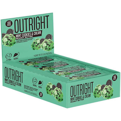 MTS Nutrition Outright Bar 12 Pack Bars MTS Nutrition Mint Cookies and Cream Peanut Butter  (1825697103915)