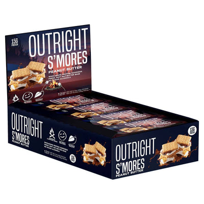 MTS Nutrition Outright Bar 12 Pack Bars MTS Nutrition Smores  (1825697103915)