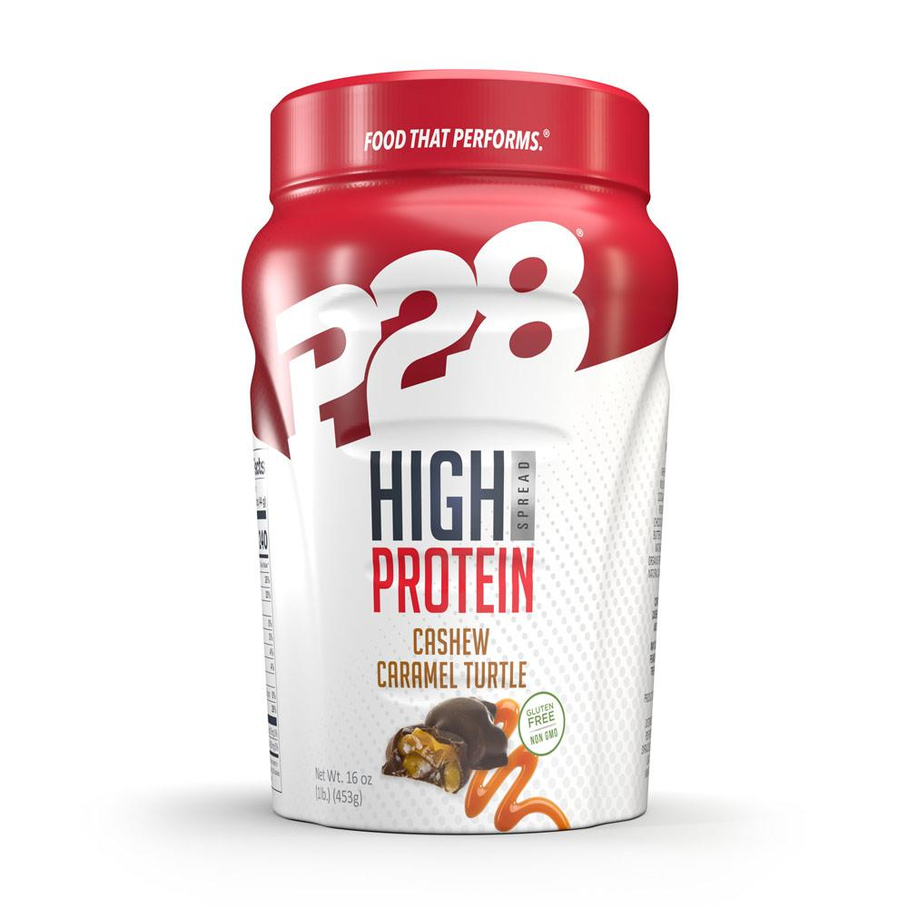 P28 High Protein Spread Caramel Turtle 16 Oz Foods & Snacks P28  (1059099443243)