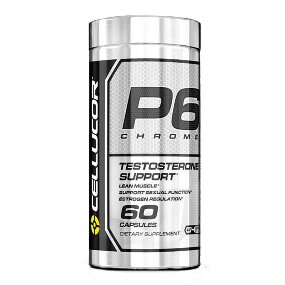 Cellucor P6 Chrome 60 Caps Testosterone Boosters Cellucor  (1059240575019)