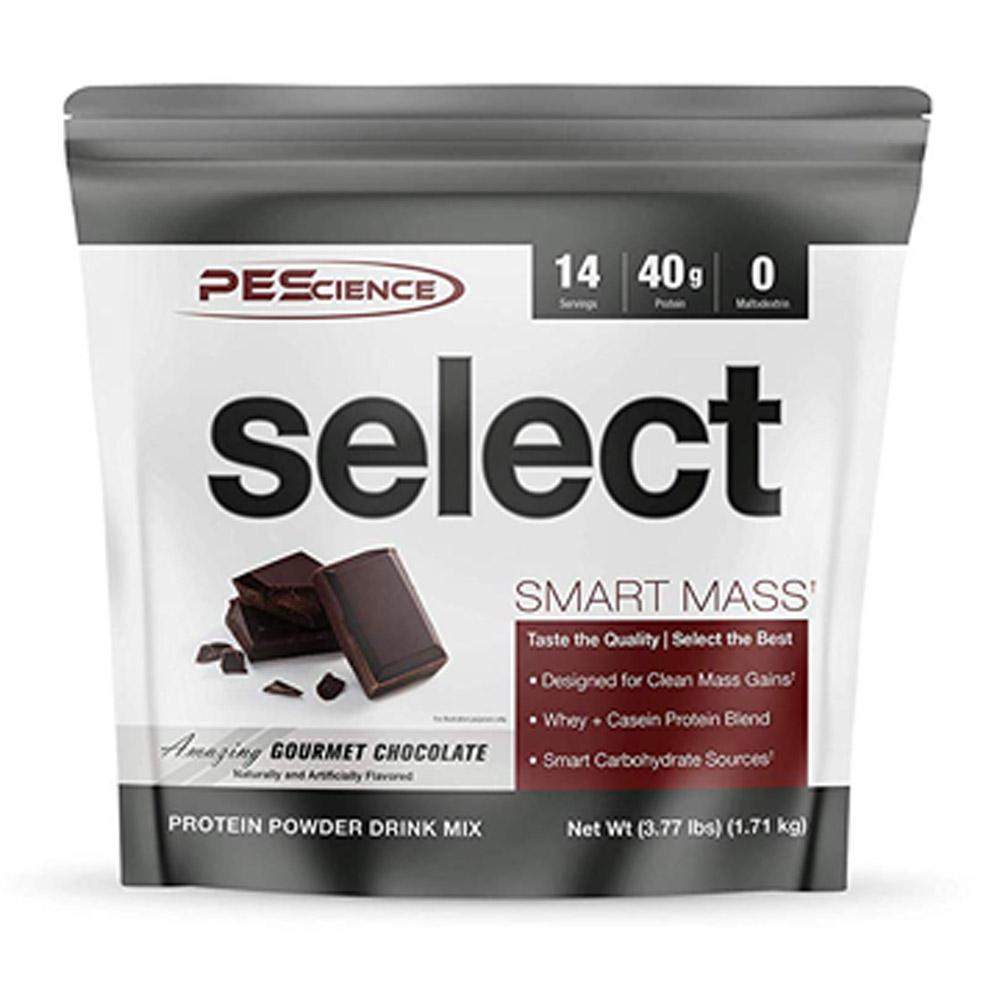 PEScience Select Smart Mass 14 Servings Protein Powders PEScience Amazing Gourmet Chocolate  (1735084539947)