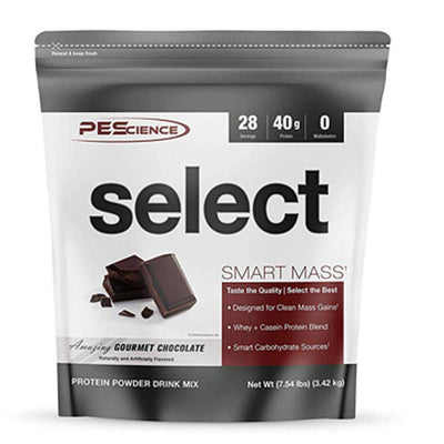 PEScience Select Smart Mass 28 Servings Protein Powders PEScience Amazing Gourmet Chocolate  (1735087259691)