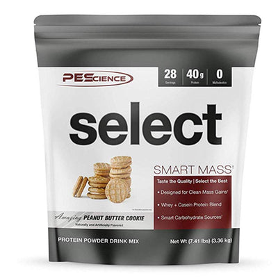 PEScience Select Smart Mass 28 Servings Protein Powders PEScience Amazing Peanut Butter Cookie  (1735087259691)