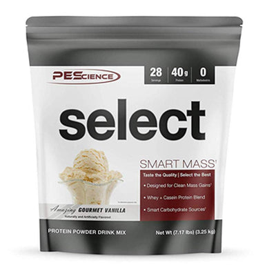 PEScience Select Smart Mass 28 Servings Protein Powders PEScience Amazing Gourmet Vanilla  (1735087259691)