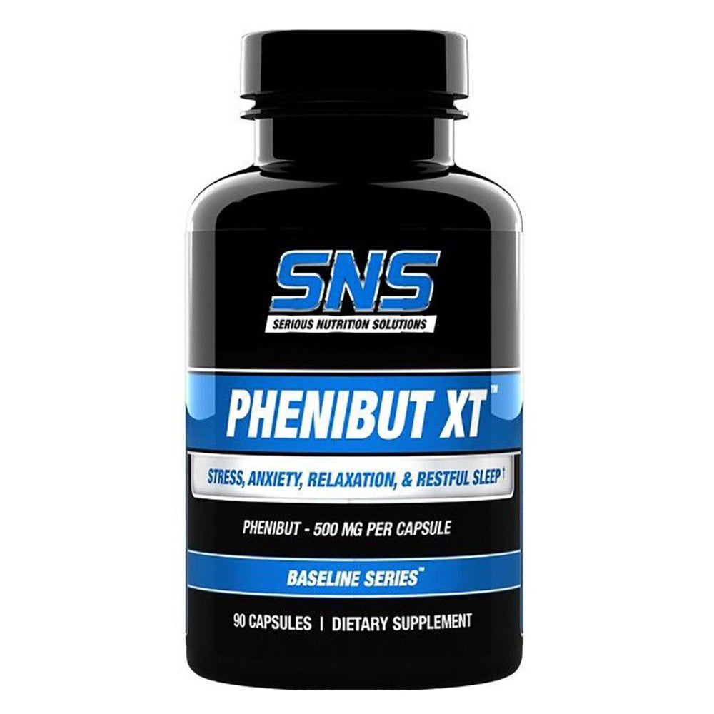 Serious Nutrition Solutions Phenibut XT 90 Caps Cognitive Serious Nutrition Solutions  (1058663694379)