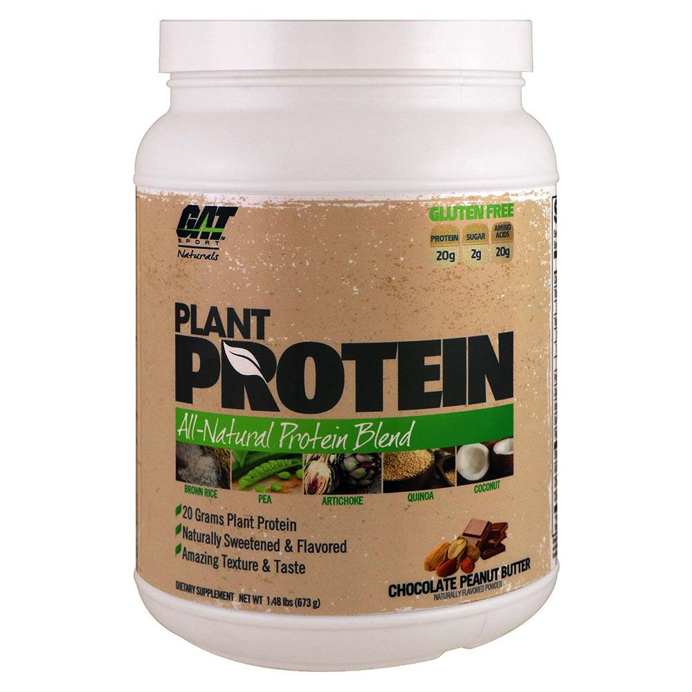 GAT Plant Protein 20 Servings Protein Powders GAT Chocolate Peanut Butter  (1557019000875)