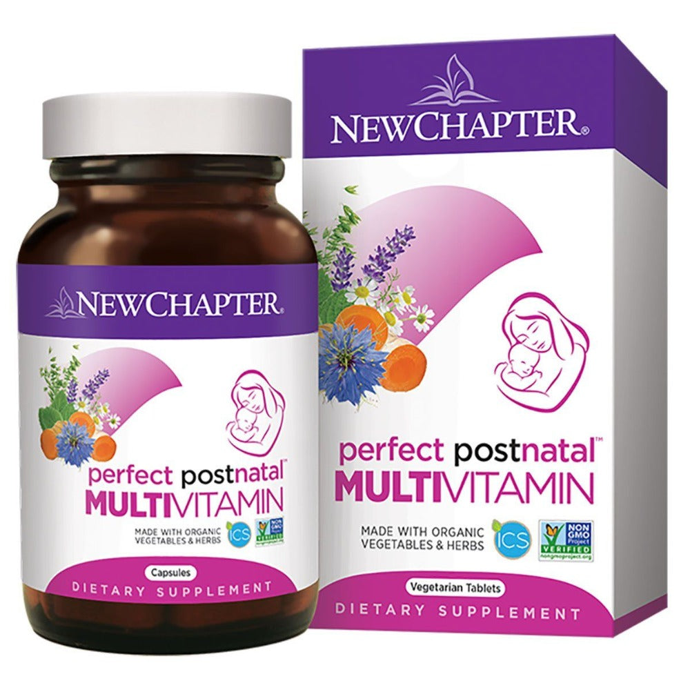 New Chapter Perfect Postnatal Multivitamin 192T Multi Vitamins New Chapter  (1340726280235)
