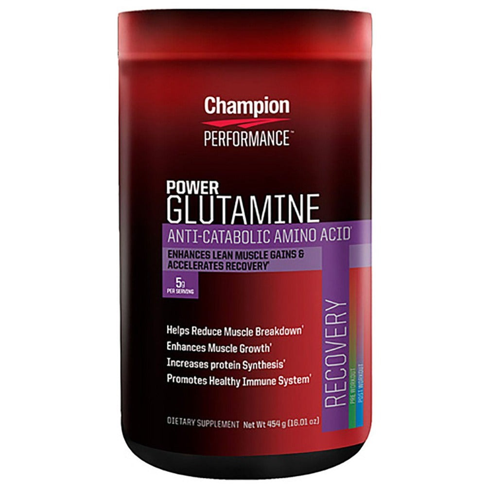 Champion Performance Power Glutamine 454 Grams Amino Acids Champion Nutrition  (1058954018859)
