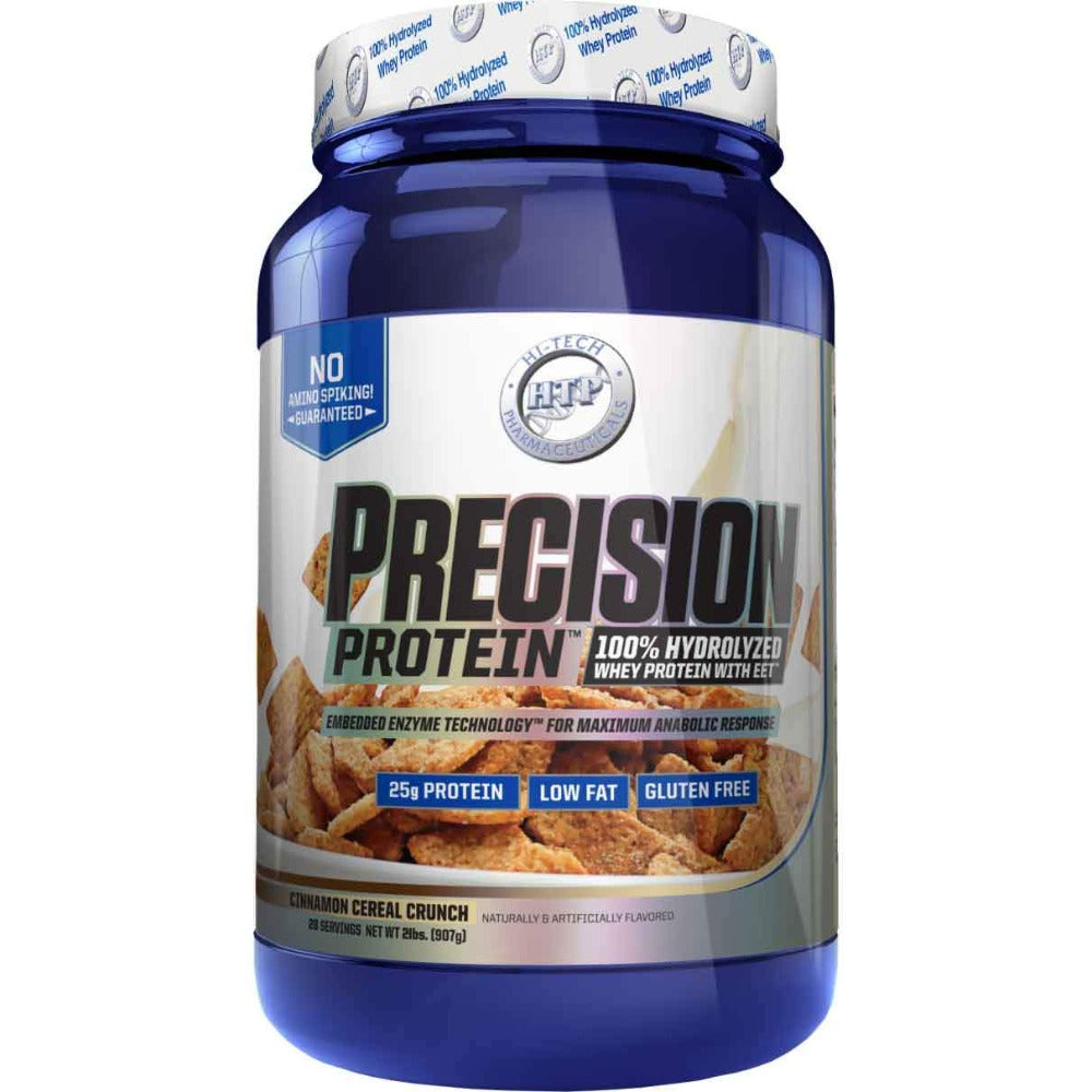 Hi-Tech Pharmaceuticals Precision Protein 2lbs Protein Hi-Tech Pharmaceuticals Cinnamon Cereal Crunch  (1059282812971)