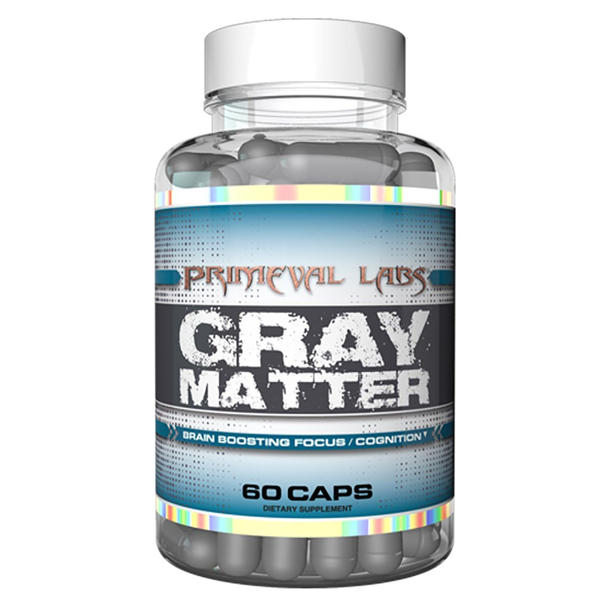 Primeval Labs Gray Matter 60 Caps Cognitive Primeval Labs  (1059276390443)