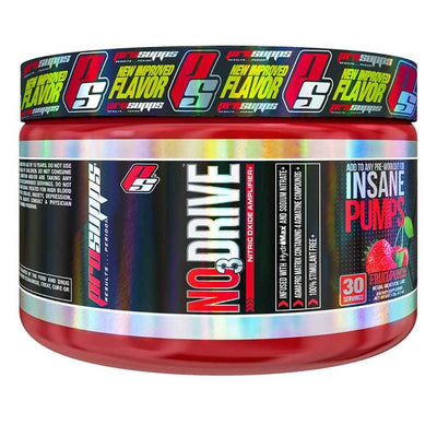 Pro Supps NO3 Drive 30 Sv Nitric Oxide Pro Supps Fruit Punch  (1708067323947)
