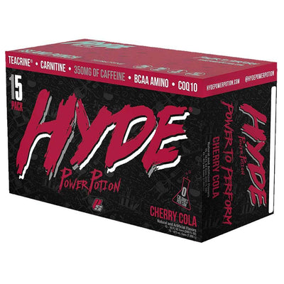 Hyde Power Potion ProSupps Energy Drink 15C Drinks Pro Supps CHERRY COLA  (1690736230443)