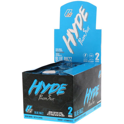 Pro Supps Hyde Power Shots 12EA Drinks Pro Supps BLUE RAZZ  (1736162934827)