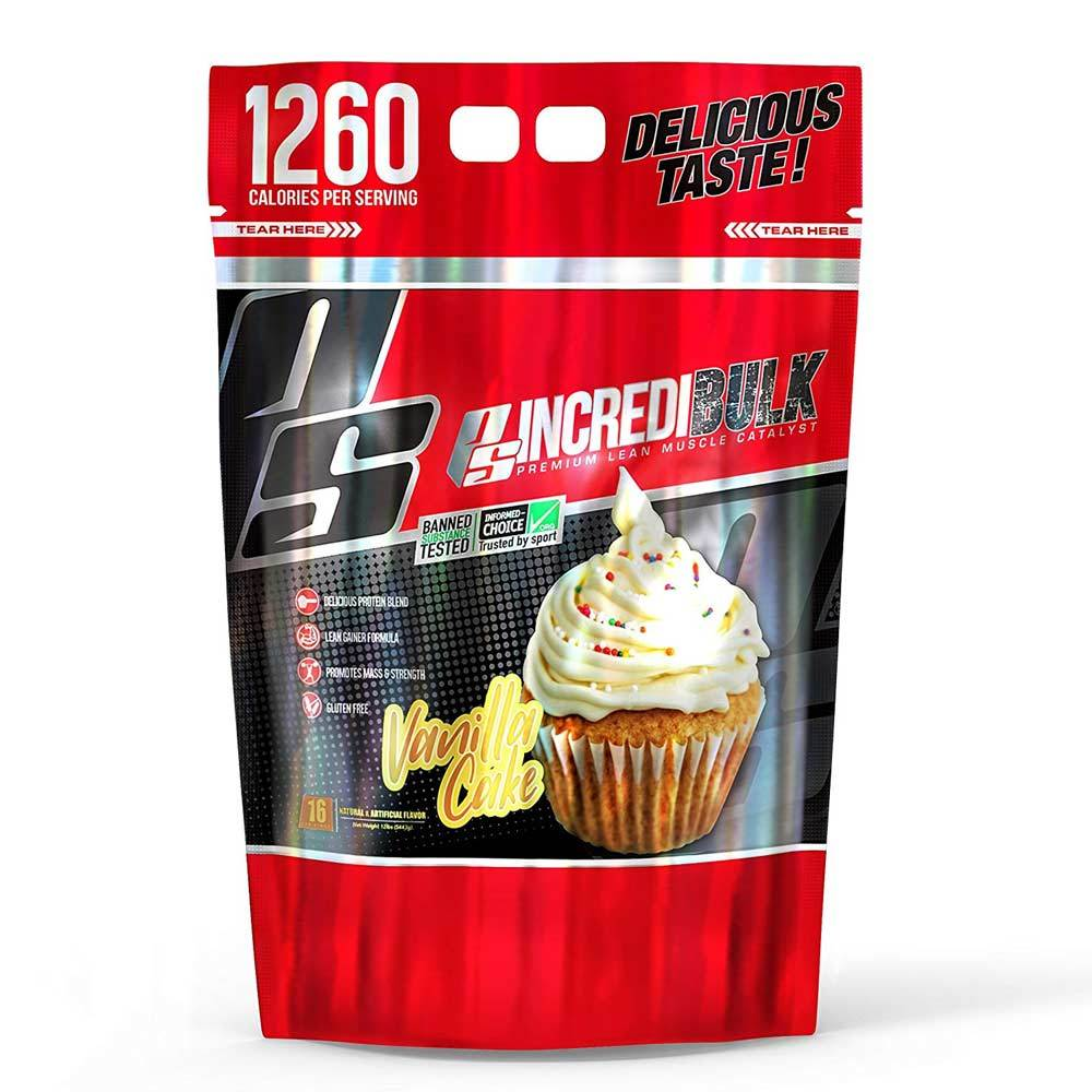 Pro Supps Incredibulk 12lb Protein Powders Pro Supps Vanilla Cake  (1702125535275)