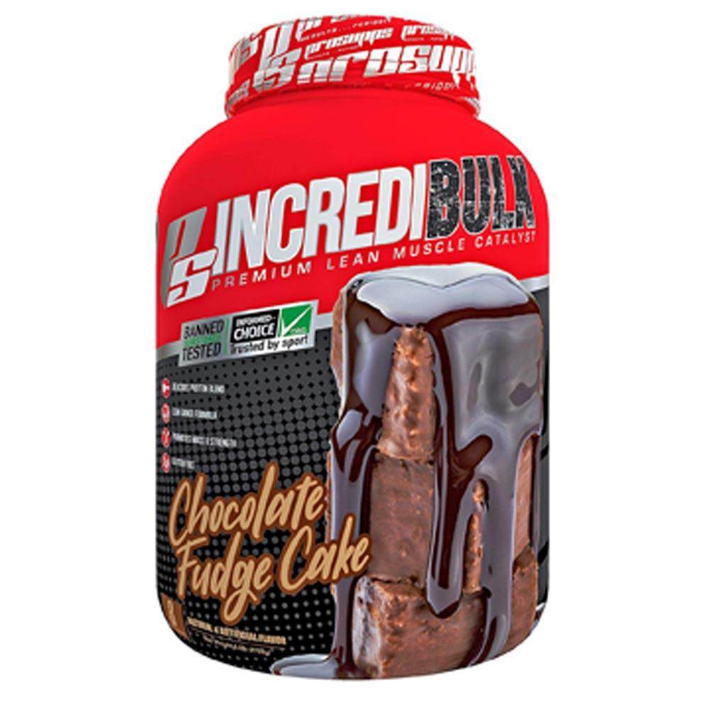 Pro Supps Incredibulk 6lb Protein Powders Pro Supps Chocolate Fudge Cake  (1706556751915)