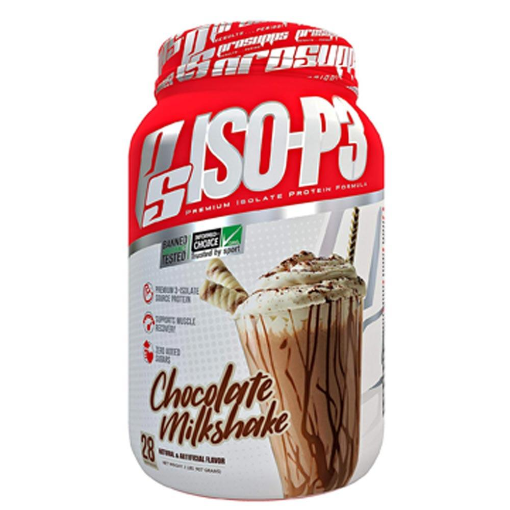 Pro Supps ISO-P3 2lb Protein Powders Pro Supps Chocolate Milkshake  (1706665050155)