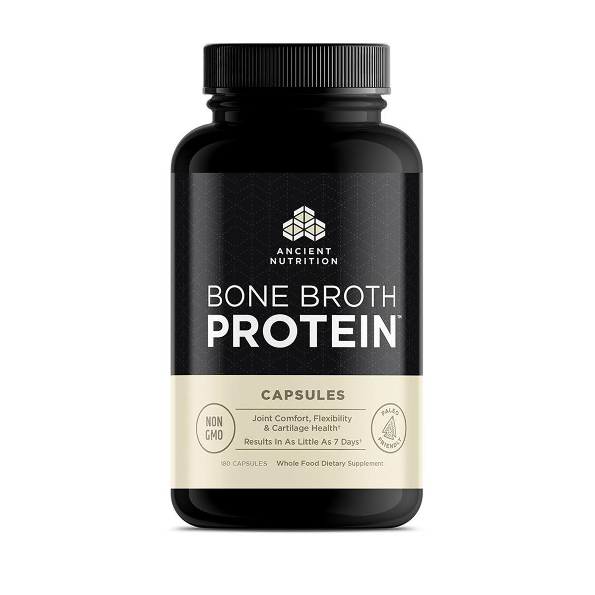 Ancient Nutrition Bone Broth Protein 180ct Protein Ancient Nutrition  (1059285303339)