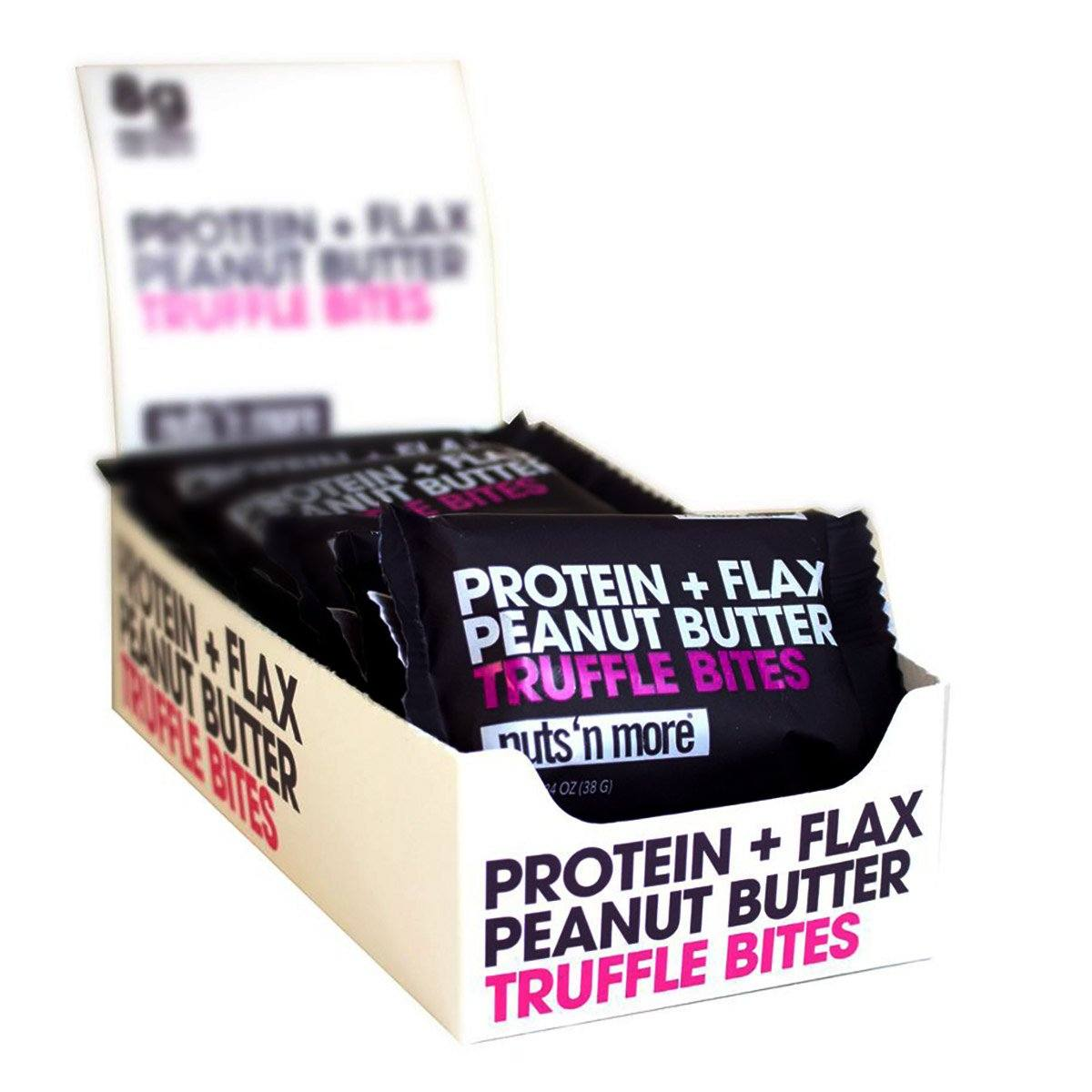 Nuts 'N More Peanut Butter Protein Truffle Butter Bites 12/Box Foods & Snacks Nuts 'N More  (1059232514091)