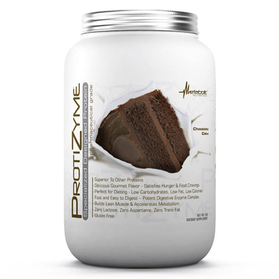Metabolic Nutrition Protizyme 2 Lbs Protein Metabolic Nutrition Chocolate Cake  (1058814296107)