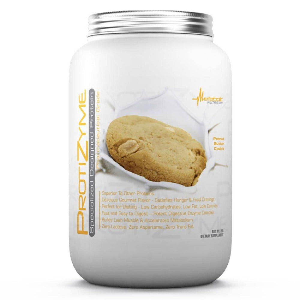 Metabolic Nutrition Protizyme 2 Lbs Protein Metabolic Nutrition Peanut Butter Cookie  (1058814296107)
